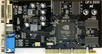 (453) Inno3D Tornado FX5500-8X W/128MB